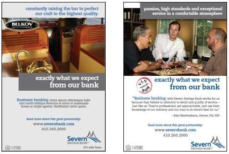 Severn Savings Bank Ad